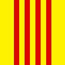 Flag of Catalunya by pjwuebker