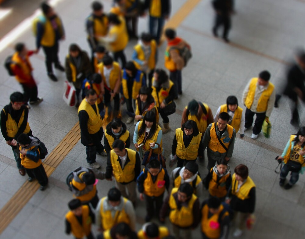 School Excursion, Seoul, South Korea by Gavin Craig