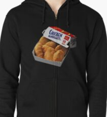 chicken nuggets Zipped Hoodie
