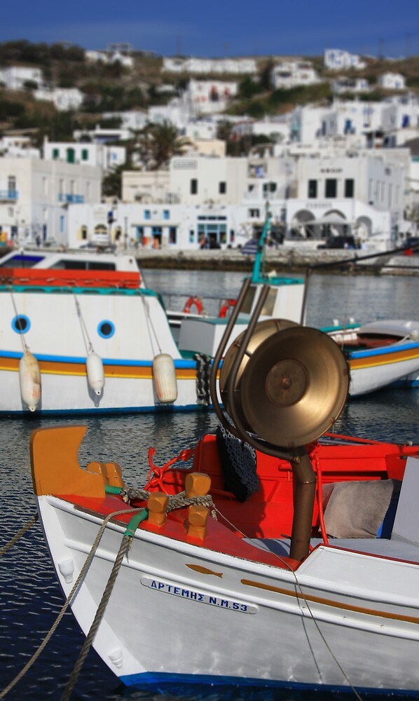 Mykonos, Greece by Gavin Craig