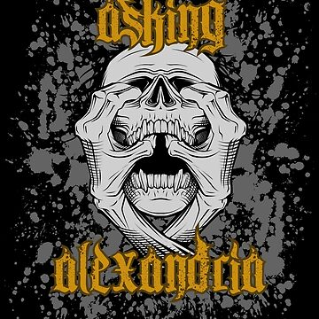 Asking Alexandria Skull Grabber England Rock 'n Roll by lu2k