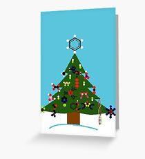 Chemistree Greeting Card