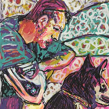 Man and his dog  by Jules48