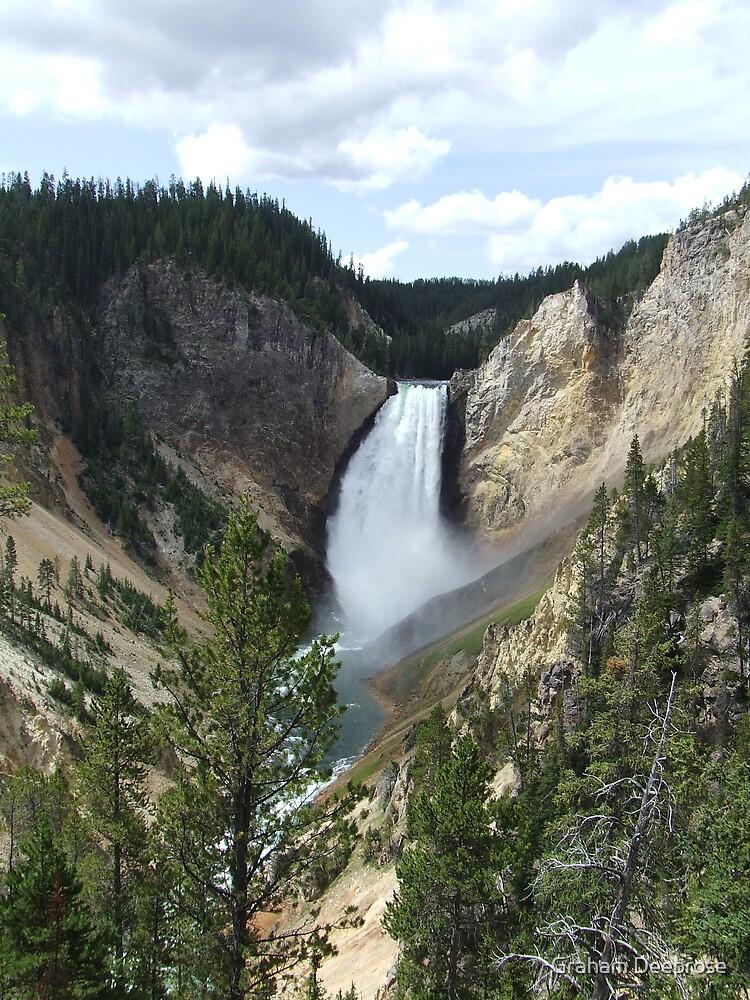 Yellowstone Falls by Graham Deeprose