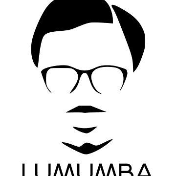 Minimalist Patrice Lumumba by Nkioi