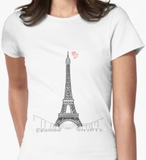 Tour Eiffel Women's Fitted T-Shirt