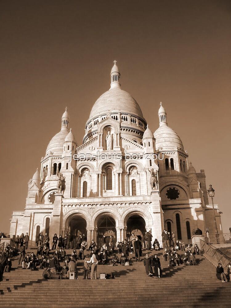 Paris - The Sacré-Coeur Basilica by jean-louis bouzou