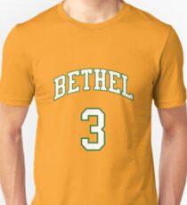 Allen Iverson 3 Bethel High School Basketball Team 2 Slim Fit T-Shirt