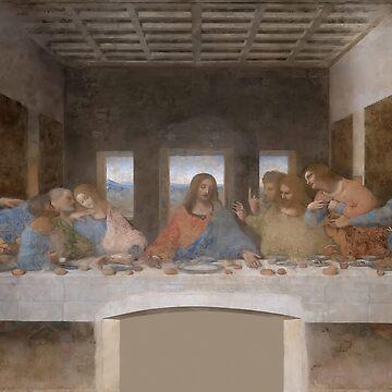 The Last Supper - Leonardo da Vinci by themasters