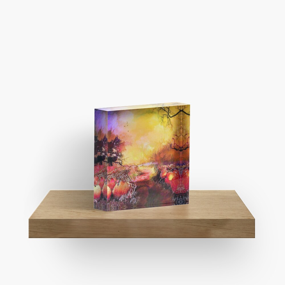 Pumpkin patch  Acrylic Block