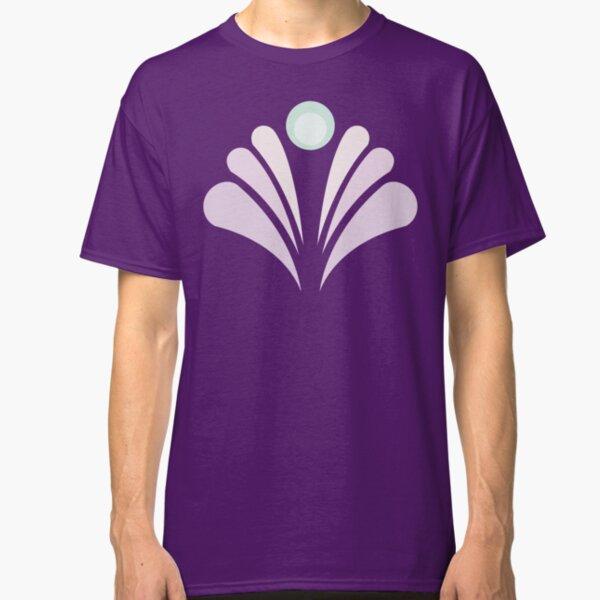 Geometric Pattern: Art Deco: Peacock: Marshmallow Classic T-Shirt