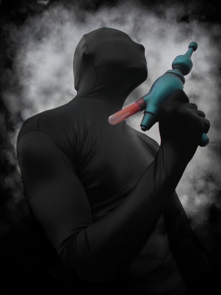 Zentai Ray Gun by mdkgraphics