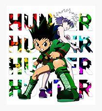 Hunter X Hunter - Killua and Gon Photographic Print