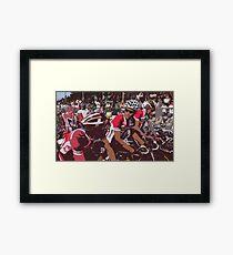 Norwegian Riders before start Framed Print