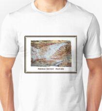 Rainbow Serpent Rock Painting, Arnhem Land, Australia Unisex T-Shirt