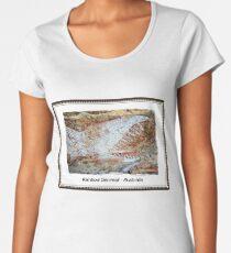 Rainbow Serpent Rock Painting, Arnhem Land, Australia Women's Premium T-Shirt