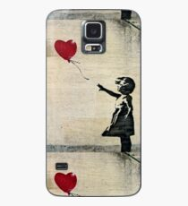 Banksy's Girl with a Red Balloon III Case/Skin for Samsung Galaxy