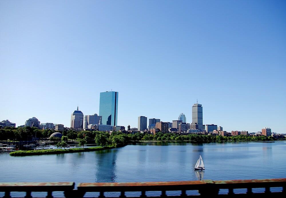 Boston Skyline by kittyrodehorst