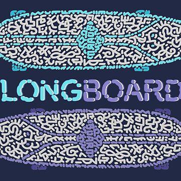 Longboard Longskate by Karotene