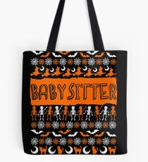 Cool Babysitter Ugly Halloween Gift t-shirt Tote Bag
