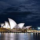 Sydney Opera house by Caroline Scott
