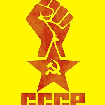 CCCP - Star Fist by GR8DZINE