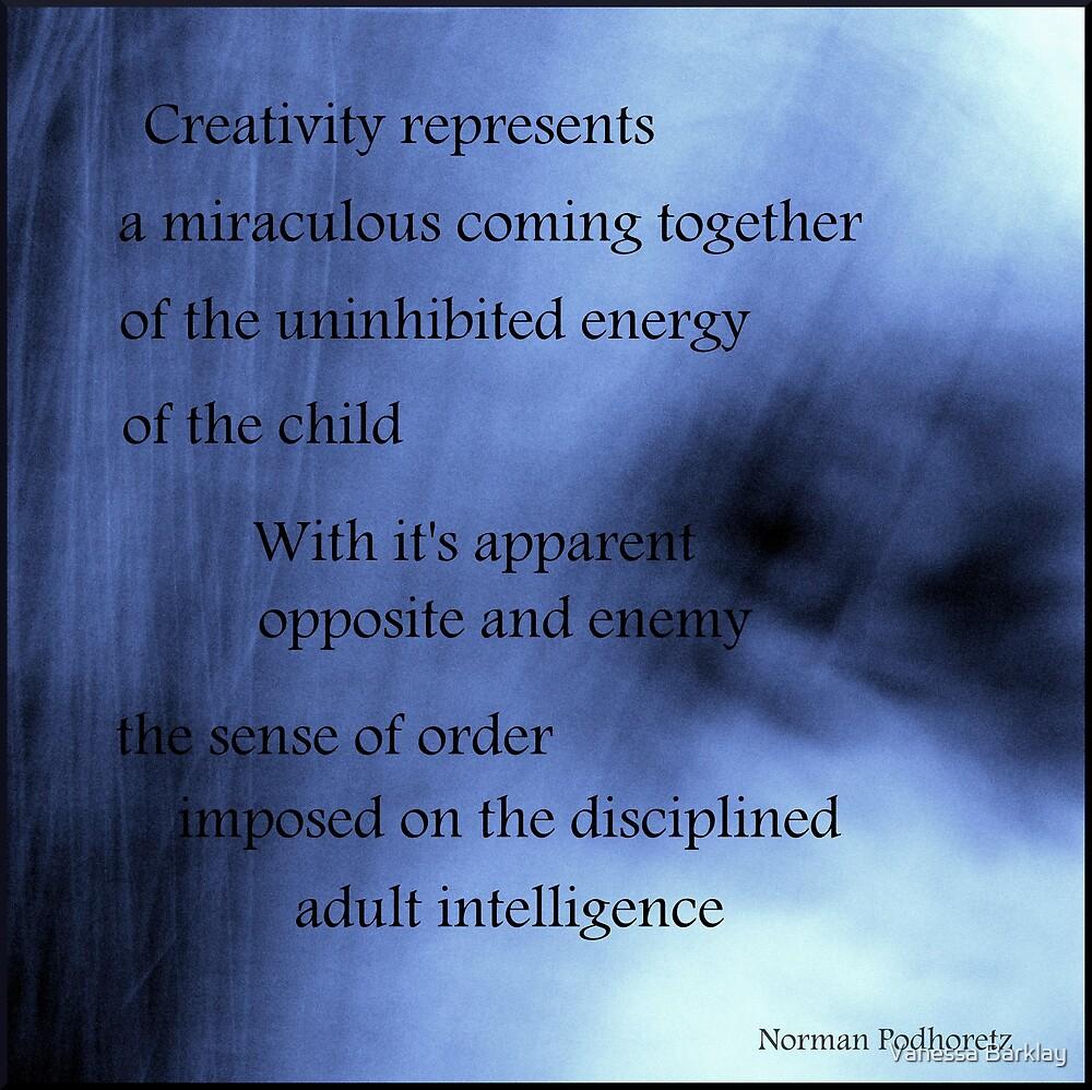Creativity Represents... by Vanessa Barklay