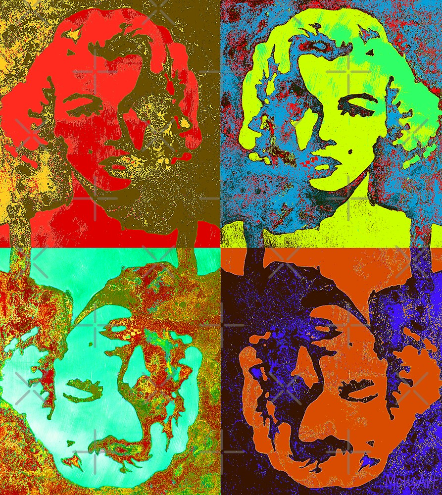 Marilyn Quadro by Ernest Mohs
