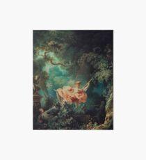Lámina rígida La pintura del oscilación - Jean-Honoré Fragonard