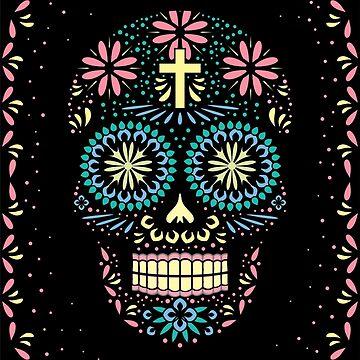Santa Muerte; Calavera; skull; Halloween by alijun