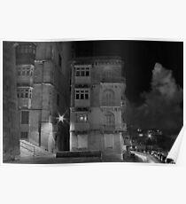 M'Mxett Valletta, Malta -- Night Light Poster