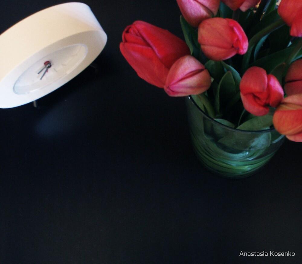 tulips by Anastasia Kosenko