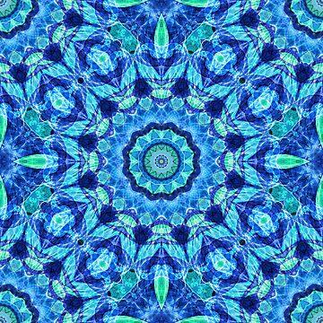 Sea Jewel boho mandala by Zand