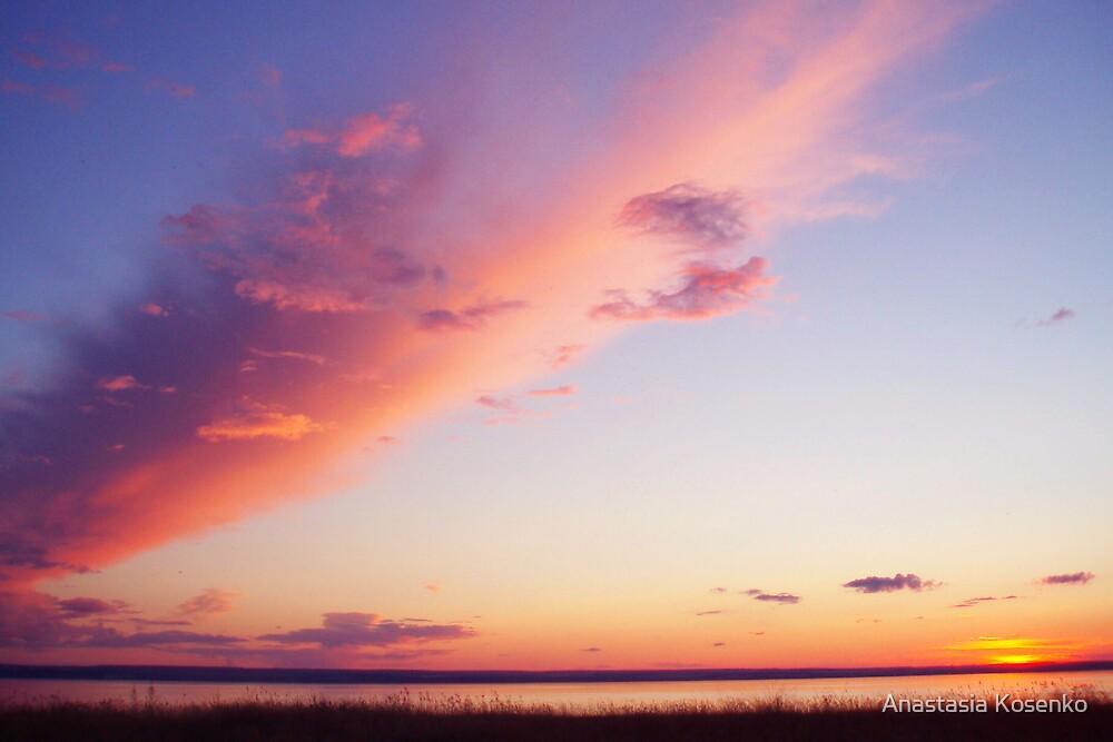 the sunset cloud by Anastasia Kosenko