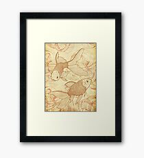 Goldfishes Nr. 2 Framed Print