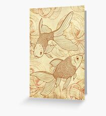 Goldfishes Nr. 2 Greeting Card