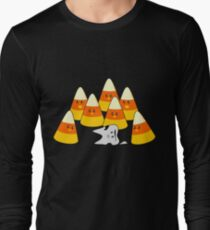 Candy Corn Mishap Long Sleeve T-Shirt