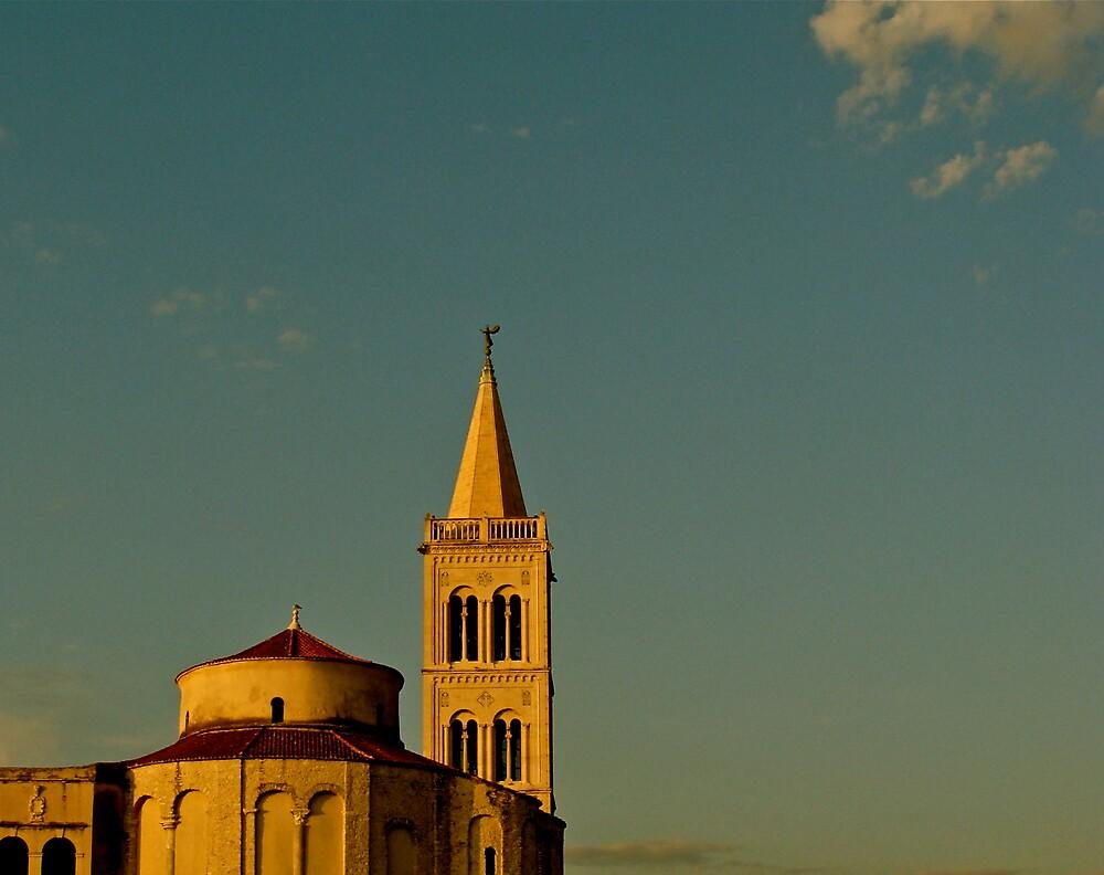Zadar ( Croatia ) St Donat  by anisja