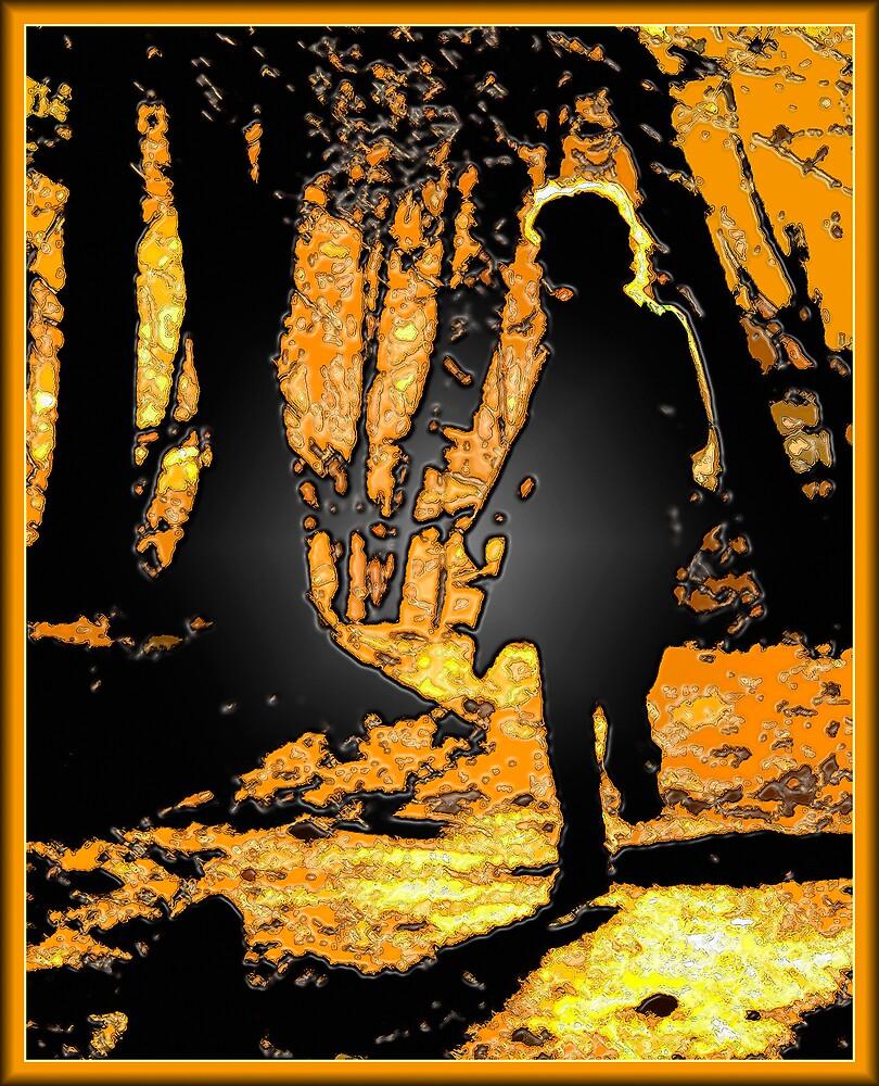 Francine's Silhouette (Special Effects) by DigitallyStill