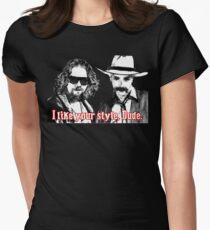 Big lebowski Women's Fitted T-Shirt