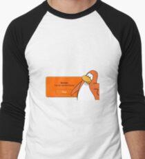 Banned Forever Men's Baseball ¾ T-Shirt