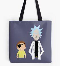 Evil Rick and Morty [PLAIN] Tote Bag