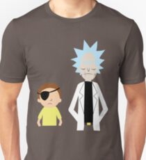 Evil Rick and Morty [PLAIN] Unisex T-Shirt