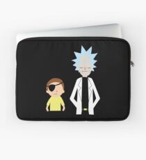 Evil Rick and Morty [PLAIN] Laptop Sleeve