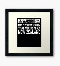New Zealand Related Gift Framed Print