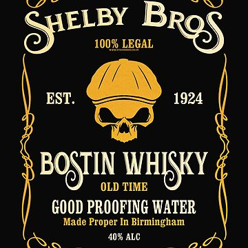 Peaky Blinders by Eye Voodoo - Shelby Bostin Whisky mk3 by eyevoodoo