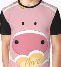 pig loves you Graphic T-Shirt