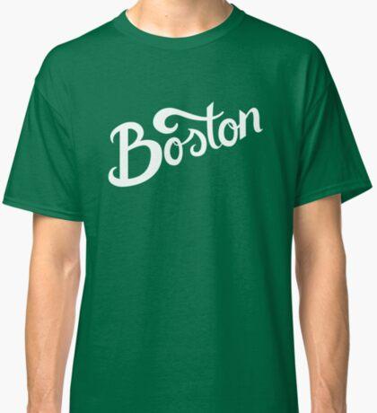 Boston Hand Lettering Classic T-Shirt