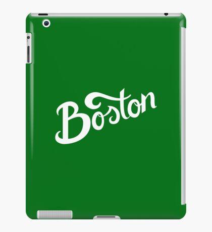 Boston Hand Lettering iPad Case/Skin