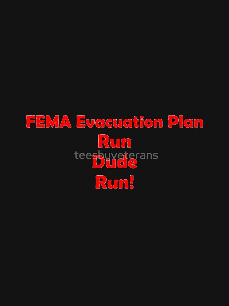 FEMA Evacuation Plan by teesbyveterans